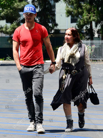 Editorial image of Shia LaBeouf and mother Shayna Saide out and about, Los Angeles, America - 01 Jun 2014