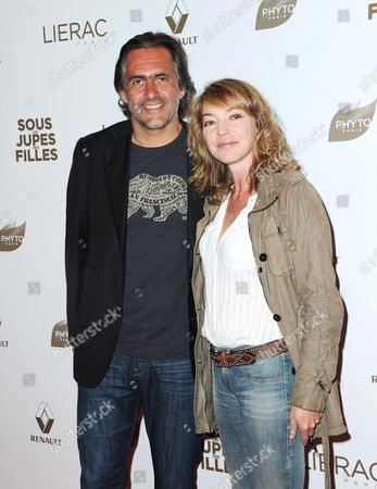 Emmanuel Chain and wife Valerie Guignabodand
