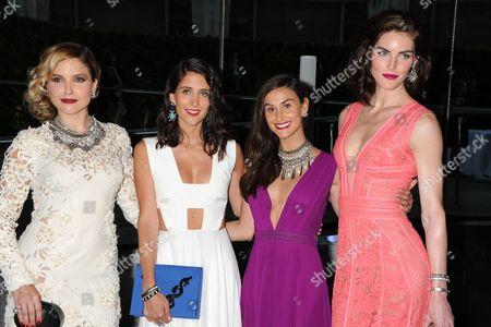 Sophia Bush, Jodie Snyder, Danielle Snyder, Hilary Rhoda