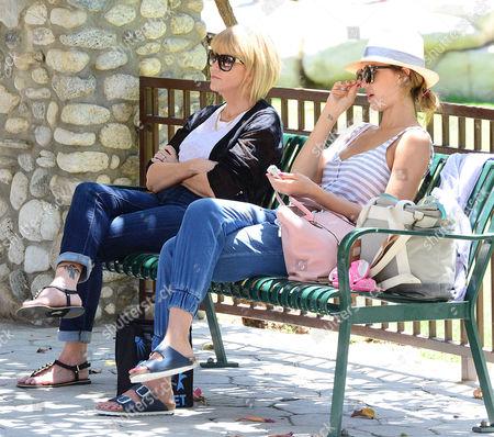 Stock Picture of Catherine Alba and Jessica Alba