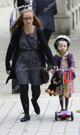 The Camerons' new nanny taking Florence Cameron to nuresery school
