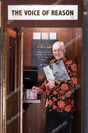 Poole United Kingdom - January 25: Portrait Of Mark Constantine Co-founder And Ceo Of Lush Cosmetics Company Photographed With Some Of His Favourite Albums On January 25