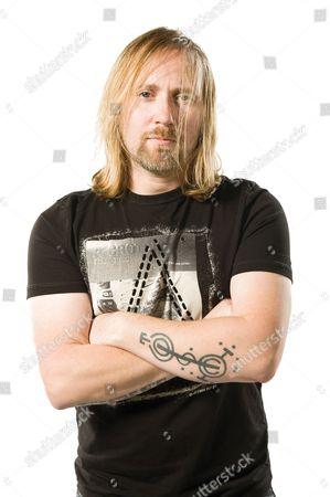 London United Kingdom - April 23: Portrait Of Canadian-british Musician Simon Collins Of Progressive Rock Group Sound Of Contact