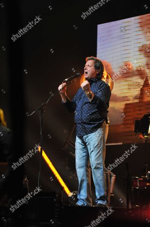 London United Kingdom - May 10: English Progressive Rock Musician John Wetton Performing Live On Stage As A Special Guest During Steve Hackett's Genesis Revisited Tour At The Hammersmith Apollo In London On May 10