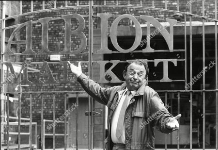 Stock Picture of Television Programme 'albion Market'. Actor Bernard Spear.