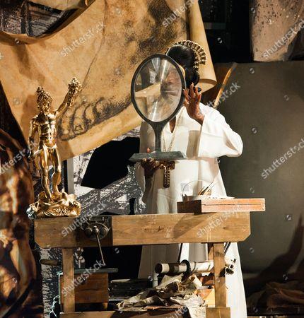 Willard White as the Pope