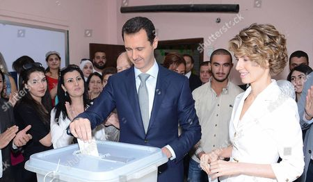 Bashar al-Assad and Asma al-Assad