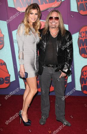 Rain Andreani and Vince Neil