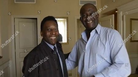 Baz Bamigboye Interviews Football Legend Pele.