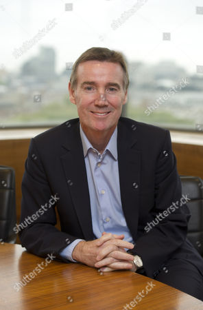 Itv Boss Adam Crozier At The London Studios. For City Interview With Rob Davies.