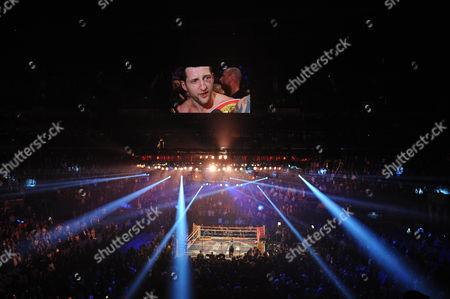 Boxing O2 Arena London - Froch V Kessler Ii. Carl Froch During The Fight With Mikkel Kessler.