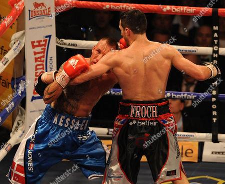 Boxing O2 Arena London. Froch V Kessler Ii. Carl Froch During The Fight With Mikkel Kessler.
