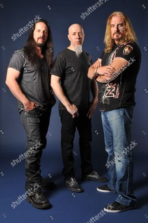 Dream Theater - John Petrucci, Jordan Rudess and James Labrie