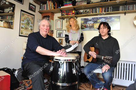 Jacqui McShee's Pentangle - Gerry Conway, Jacqui Mcshee and Alan Thomson