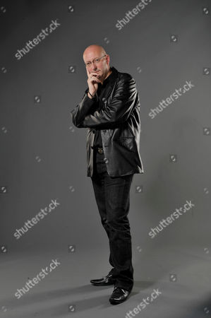 London United Kingdom - September 23: Portrait Of Musician Rob Cottingham Keyboardist And Vocalist With English Progressive Rock Group Touchstone