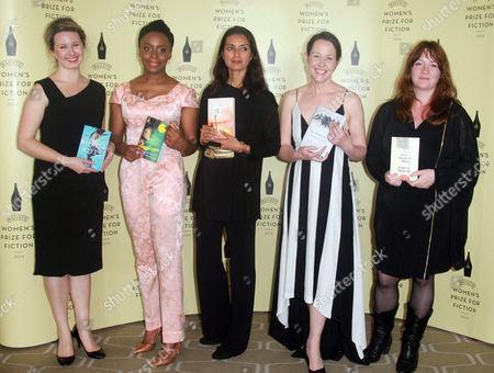 Hannah Kent, Chimamanda Ngozi Adichie, Jhumpa Lahiri, Audrey Magee, Eimear McBride