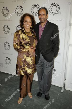 Tim Reid and wife Daphne Reid