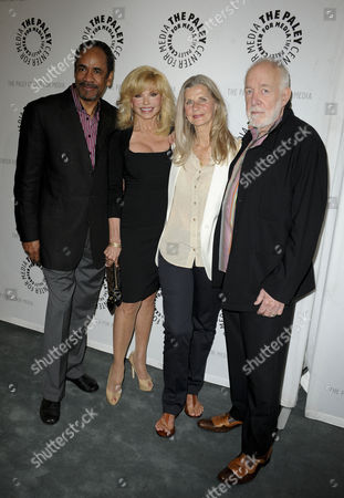 Stock Picture of Tim Reid, Loni Anderson, Jan Smithers and Howard Hesseman