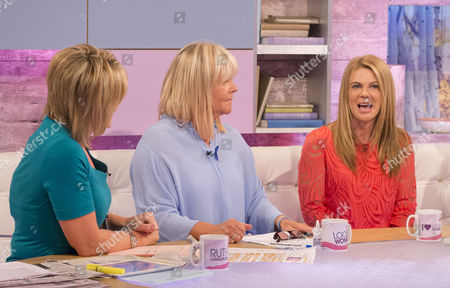 Ruth Langsford, Linda Robson and Siobhan Freegard