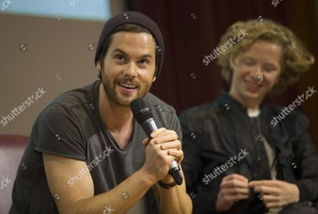 Stock Picture of Tom Riley and Eros Vlahos