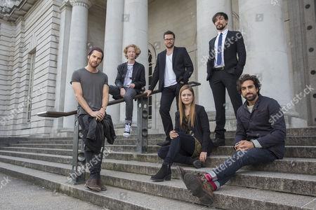 Stock Photo of Tom Riley, Eros Vlahos, Kieran Bew, Hera Hilmar, Blake Ritson, Gregg Chillin