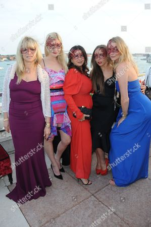 Jo Wood, Kate Ryan, Fran Cutler, Chloe Green and Jodie Kidd