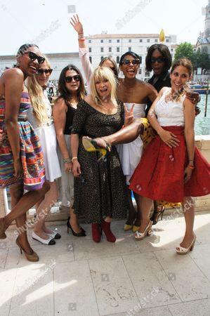 Vanessa Kingori, Kate Ryan, Fran Cutler, Chloe Green, Sherett Dahlstrom, Aicha McKenzie, Lily Hodges and Jo Wood