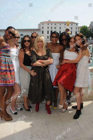 Vanessa Kingori, Kate Ryan, Fran Cutler, Chloe Green, Sherett Dahlstrom, Aicha McKenzie, Lily Hodges, Jo Wood and Julie Brangstrup