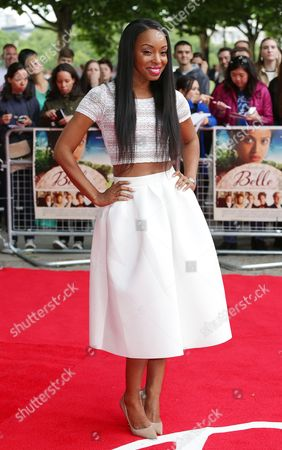 Editorial photo of 'Belle' film premiere, London, Britain - 05 Jun 2014