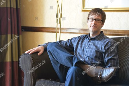 Brighton United Kingdom - July 10: Portrait Of American Game Designer And Producer Mark Cerny During An Interview At The 2013 Develop Awards In Brighton On July 10 2013. Cerny Is Best Known For Producing Instalments In The Sonic The Hedgehog And Crash Bandicoot Series Of Video Games And Also As The Lead Architect Of Sony's Playstation 4 Console
