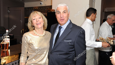 Stock Picture of Jilly Goolden and Mitch Winehouse