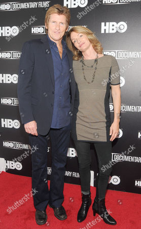 Denis Leary and Ann Leary