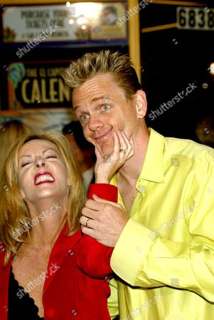 CHRISTOPHER TITUS AND WIFE