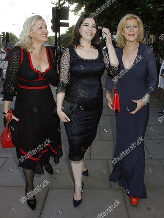 Guest, Nigella Lawson and Maria McErlane