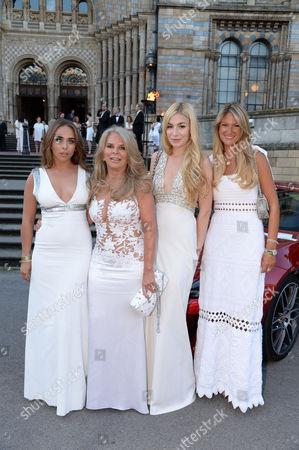 Chloe Green, Lady Tina Green, Kate Ryan and Guest