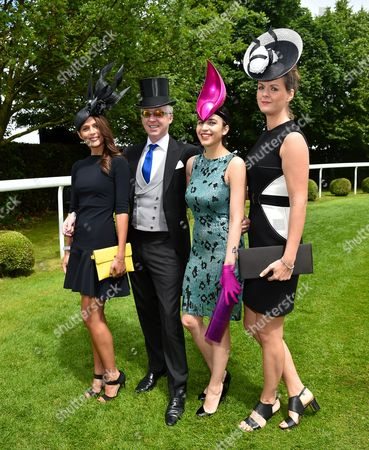 Jo Renwick, Philip Treacy and guests