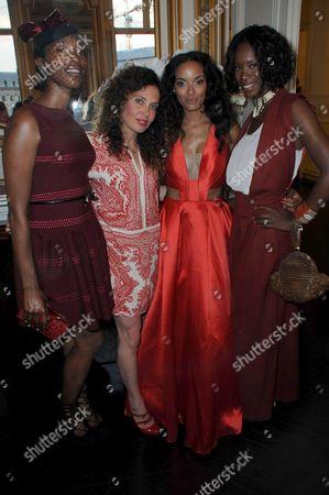 Vanessa Kingori, Tara Smith, Selita Ebanks and Aicha McKenzie
