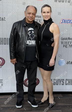 Cheech Marin and wife Natasha Rubin