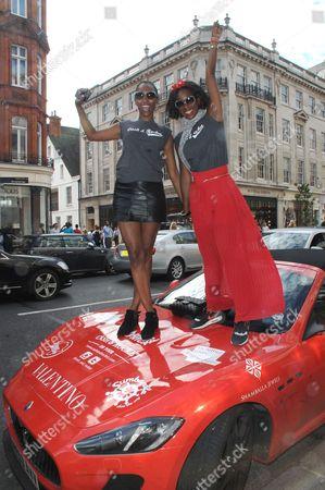 Vanessa Kingori and Aicha McKenzie