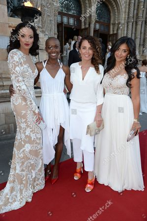 Selita Ebanks, Tiffany Persons and guests