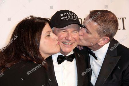 Stock Image of Sheryl Kaller, Terrence McNally and Tom Kirdahy