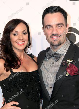 Ramin Karimloo and Amanda Karimloo