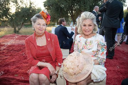 Princess Anne of France, Duchess of Calabria and Princess Beatrice of Orleans