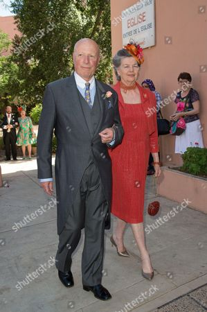Baron Francois Xavier de Sambucy de Sorgue and Princess Anne of France, Duchess of Calabria