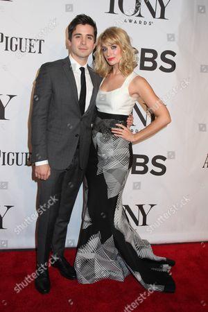 Matt Doyle and Beth Behrs