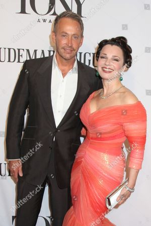 Stock Picture of Peter Marc Jacobson and Fran Drescher