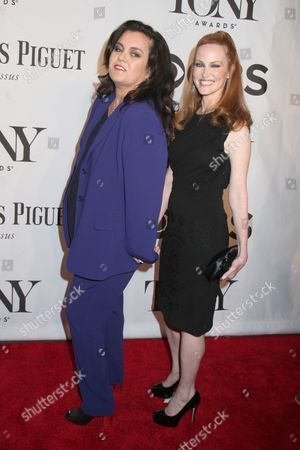 Stock Photo of Rosie O'Donnell and Michelle Rounds