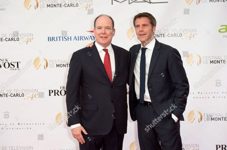 Prince Albert II of Monaco and Prince Emanuele Filiberto