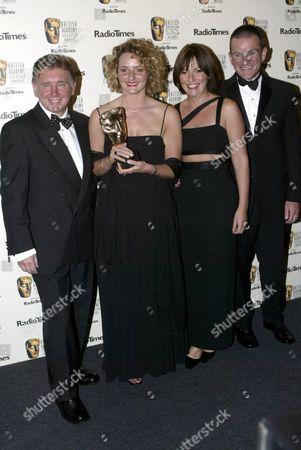 Editorial photo of BAFTA TV AWARDS AT THE DRURY LANE THEATRE IN LONDON, BRITAIN - 21 APR 2002