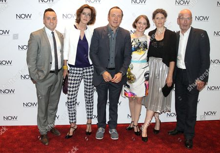 Simon Lee Phillips, Haydn Gwynne, Kevin Spacey, Katherine Manners, Hannah Stokely and Gary Powell